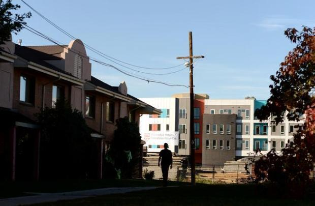 The Denver Housing Authority apartment complex ...