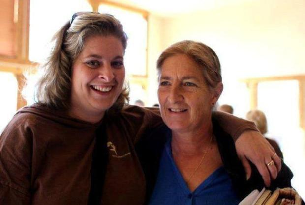 Katie Smith, 33, with her mother Mary Katherine Ricard.