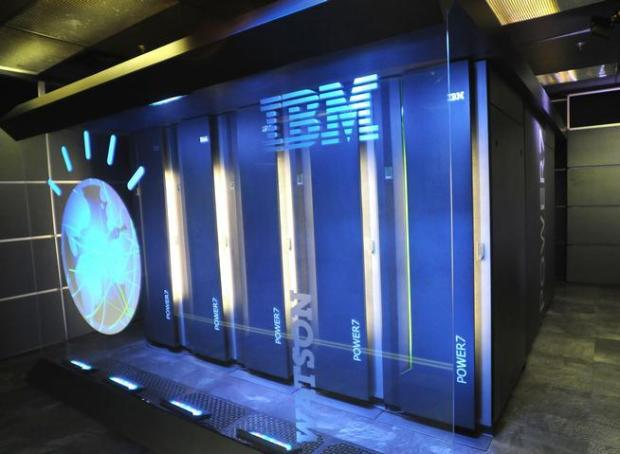 The IBM computer system known as Watson, at IBM's T.J. Watson research center in Yorktown Heights, N.Y.