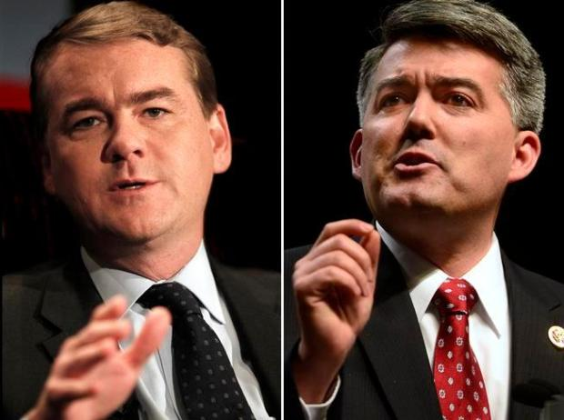 Colorado's Democratic U.S. Sen. Michael Bennet, left, voted on Wednesday to uphold the BLM methane rule, while Republican Sen. Cory Gardner voted against it. The rule was upheld on a 51-49 vote.