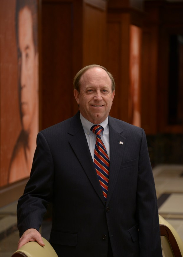Colorado Attorney General John Suthers, in official 2013 portrait