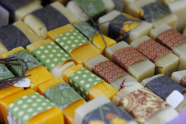 LAKEWOOD, CO - FEBRUARY 12: Sweet Bee Botanicals at Four Seasons Farmers & Artisans Market in Lakewood, Colorado on February 12, 2016. Four Seasons Farmers & Artisans Market is a year round farmers market. (Photo by Seth McConnell/The Denver Post)