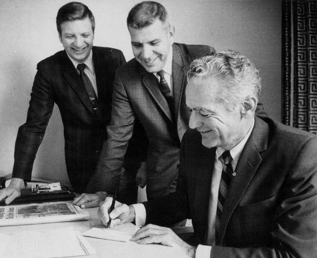 Irv Moss, Larry Varnell, Ray Ball