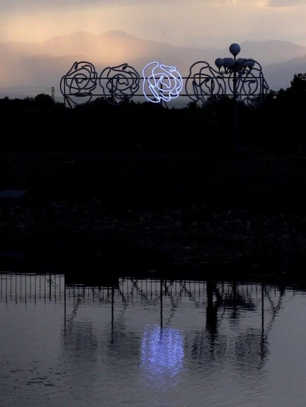 "John Geiger's ""ROAM"" installation in Greenwood Village. Photo by Cortney Lane Stell, provided by Black Cube."