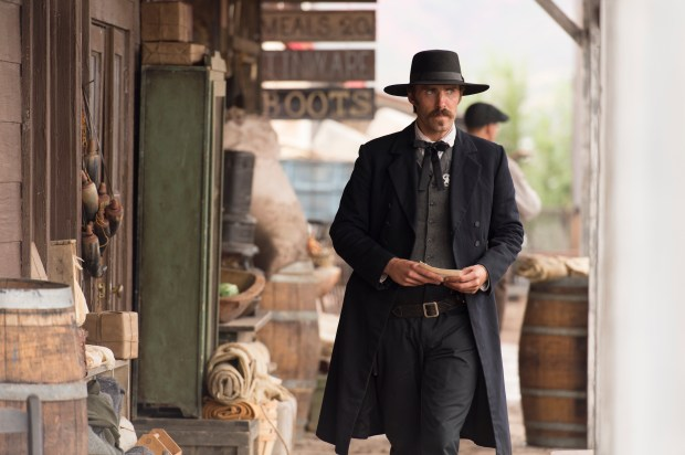 """Jonathan C. Stewart plays Wyatt Earp in the AMC series """"The American West."""" Photo provided by AMC"""