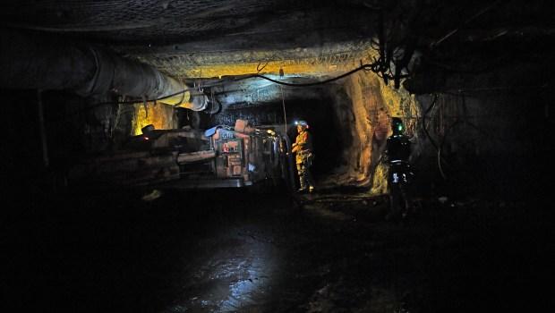 Inside the West Elk Mine in Colorado