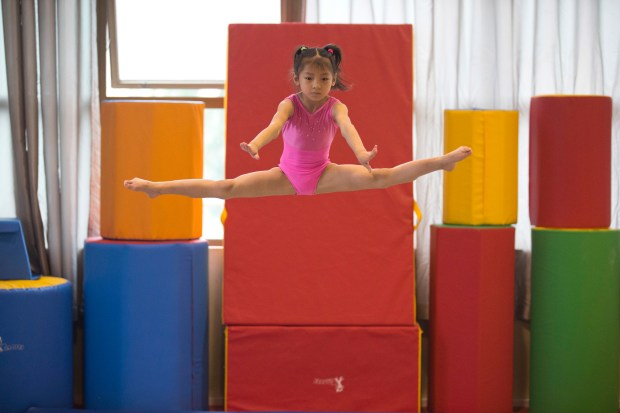 """In China, """"Happy Gymnastics"""" replaces grind of strict study – The"""