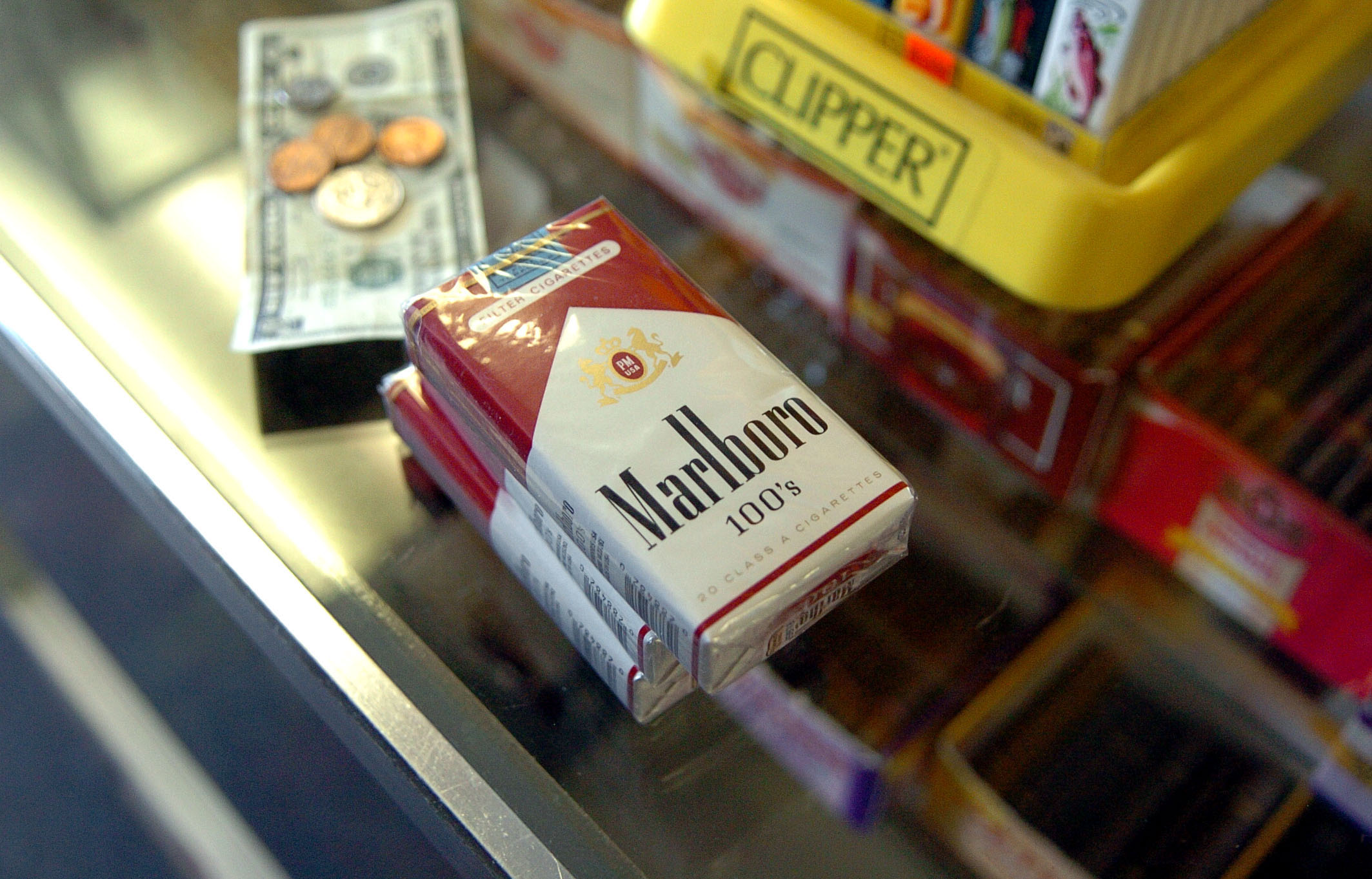 How much does a carton of cigarettes Marlboro cost in Alaska
