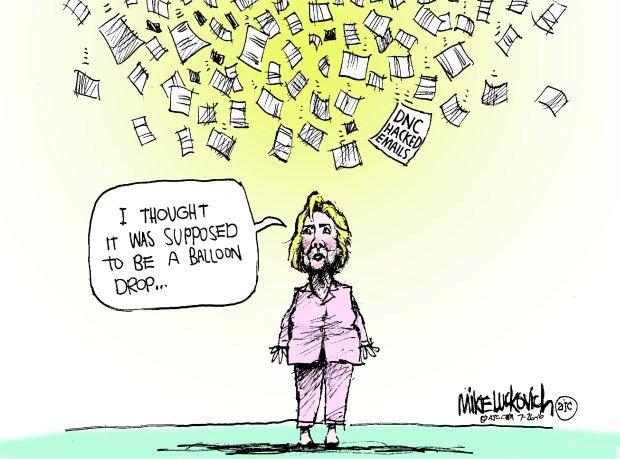 dnc-emails-cartoon-luckovich