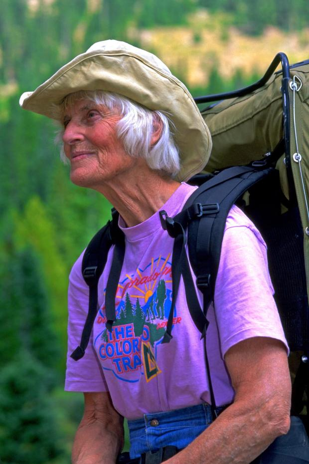 Gudy Gaskill spearheaded the effort to build the 567-mile Colorado Trail, one of the top outdoor attractions in Colorado. She rallied thousands of volunteers from every state and many countries to help build the trail, one segment at a time. She died in Denver on July 14, 2016, at 89.