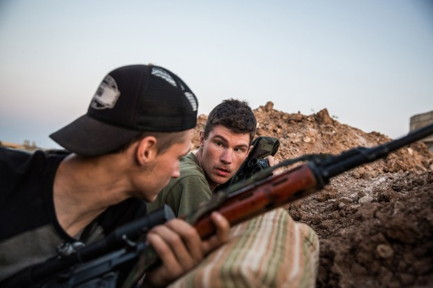 Levi Shirley fights in Syria
