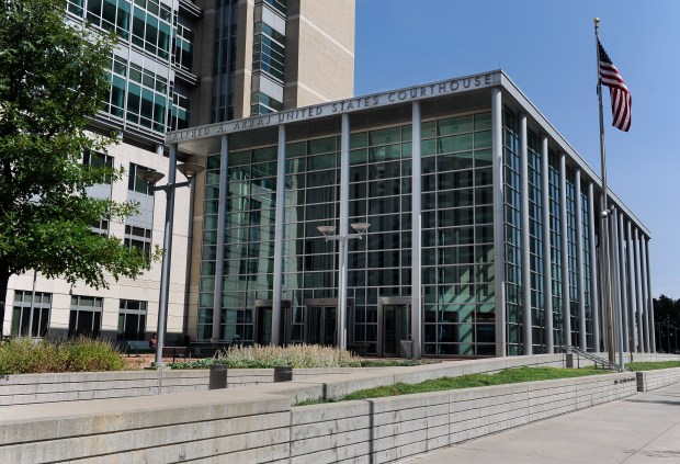 Alfred A. Arraj United States Courthouse in downtown Denver