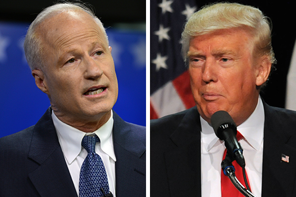 In a new ad, Rep. Mike Coffman, R-Colo., says he doesn't think much of GOP presidential nominee Donald Trump.
