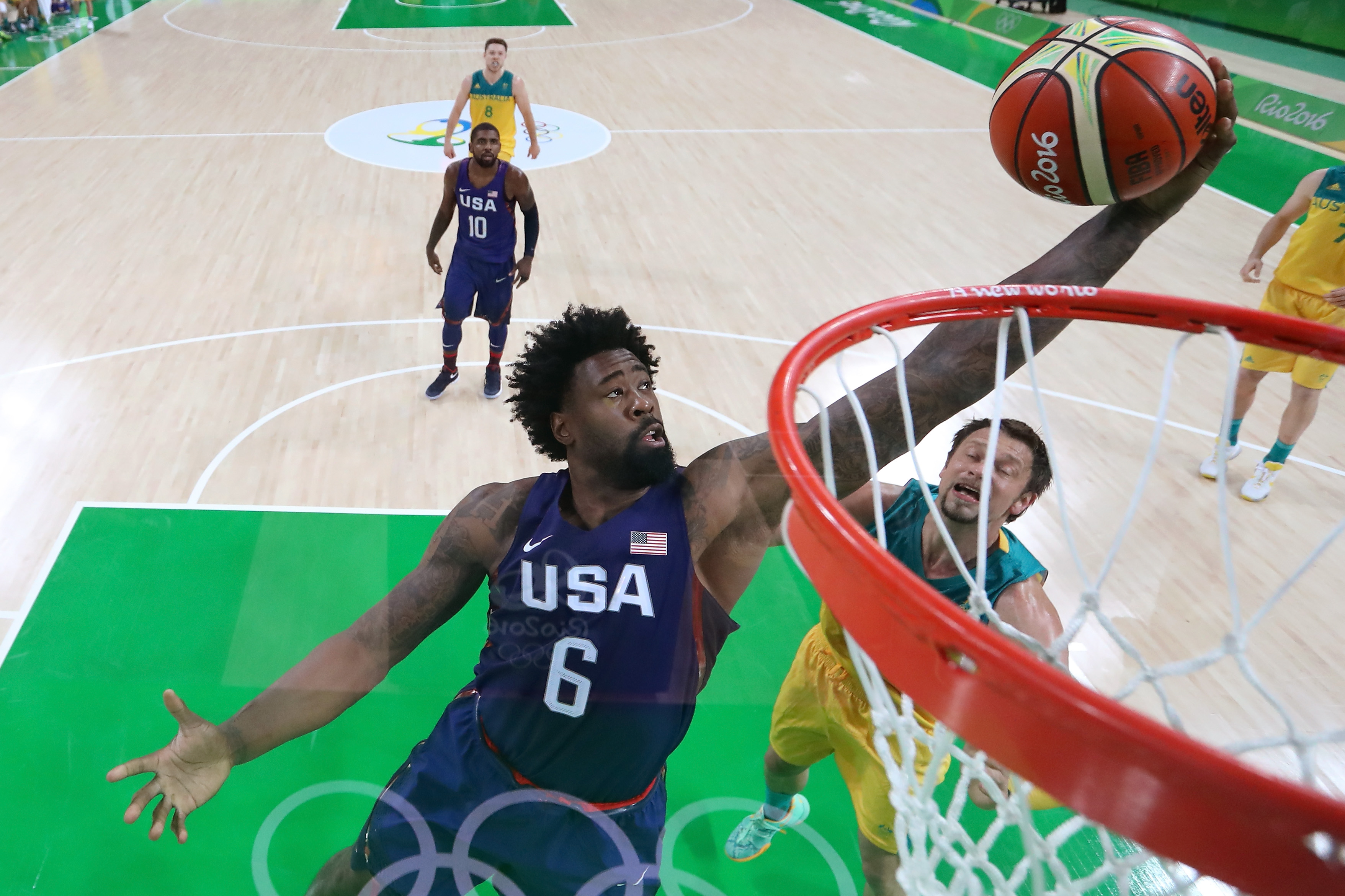 I'm watching it on tok21. U S Men S Basketball Team Gets Tested Beats Australia At Olympics The Denver Post