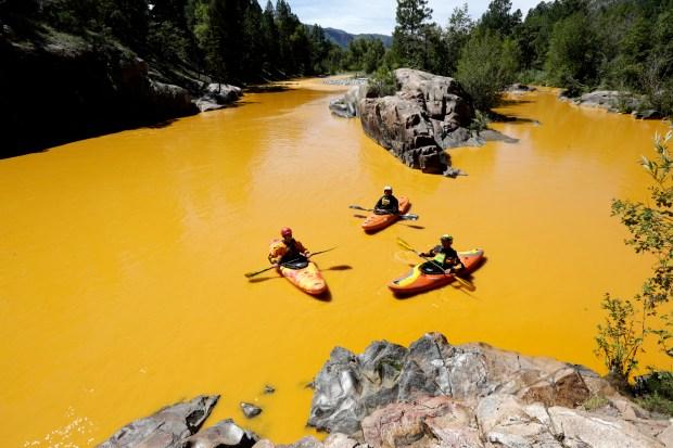 Mine Waste Leak-New Mexico