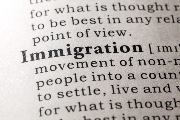 Although immigration may be subject to reasonable regulation, it must never be prohibited.