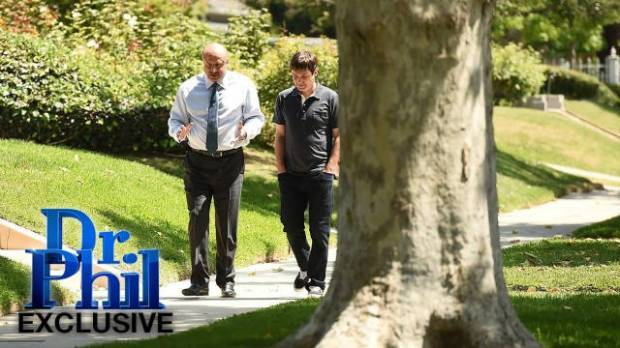 """Host Phil McGraw and Burke Ramsey appear in a clip from the """"Dr. Phil"""" show that will air in September 2016."""
