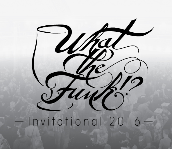 The logo for the 2016 What the Funk!? Invitational the week of GABF in Denver.