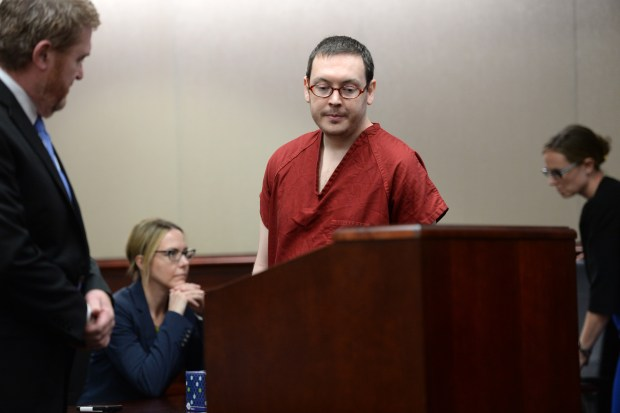 James Holmes appears in court to ...