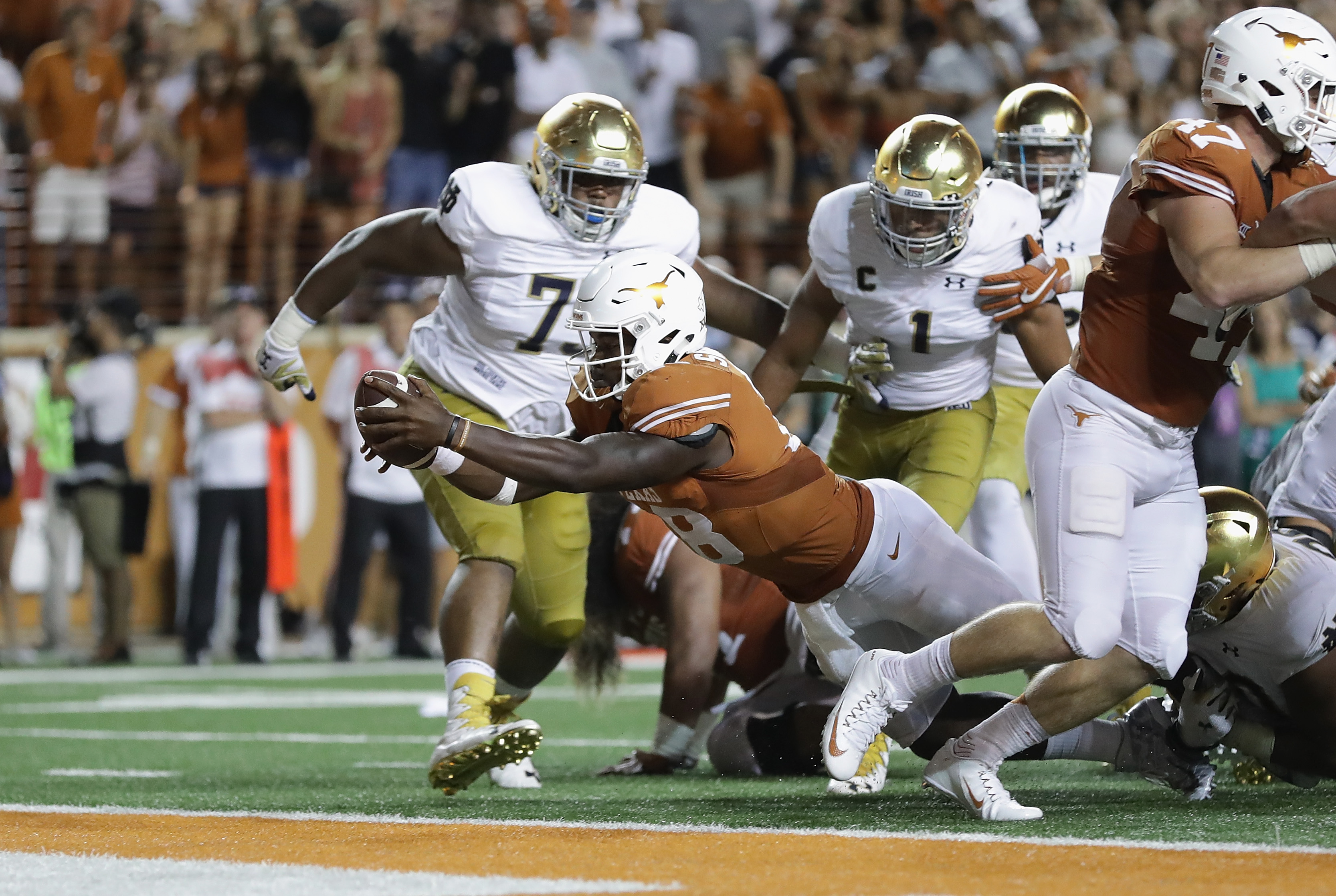 Image result for tyrone swoopes notre dame
