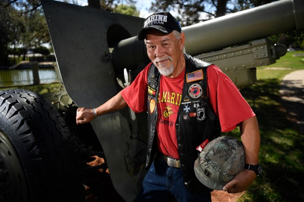 Vietnam Veteran and Hillary Clinton supporter George Autobee