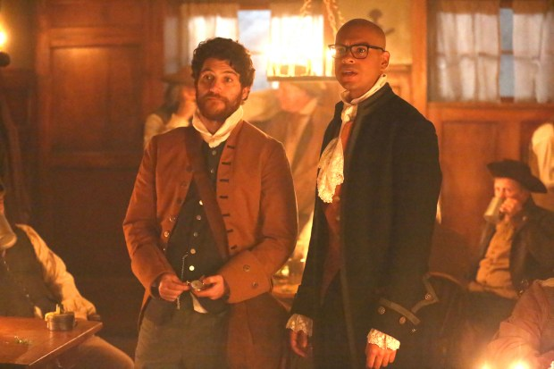 "Adam Pally and Yassir Lester in ""Making History"" coming soon to FOX."