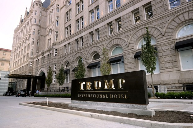 The Trump International Hotel on opened last Monday in Washington, D.C.