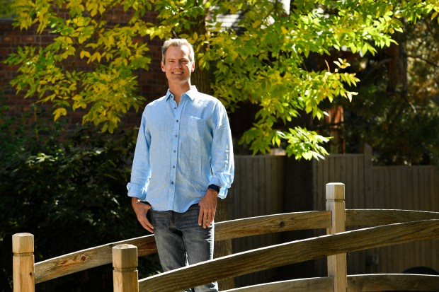 Stephen Pearse, new chairman of Innovation Pavilion, is pictured at his home on October 4, 2016 Boulder.