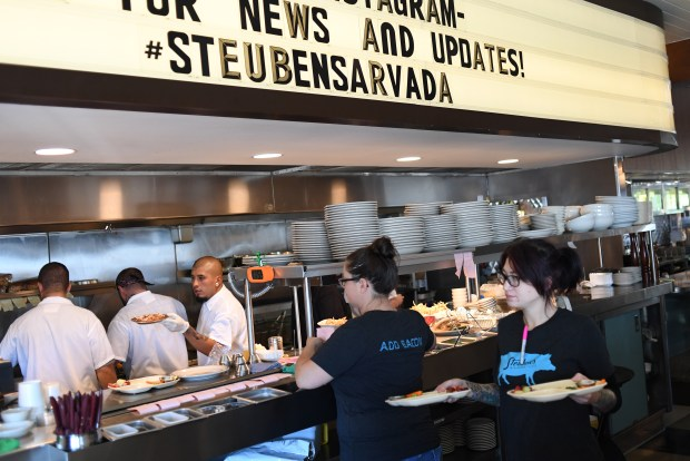 Steuben's recently opened in Arvada located inside a renovated Gunther Toody's diner, September 16, 2016. Olde Town Arvada's restaurant and bar scene is booming.