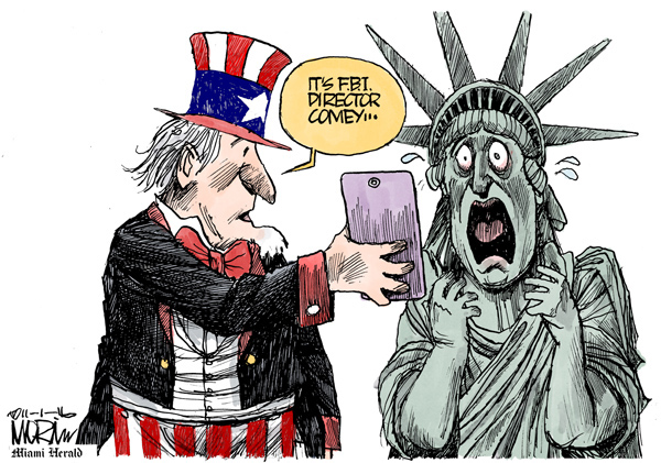 Image result for Cartoon Email FBI Director Election