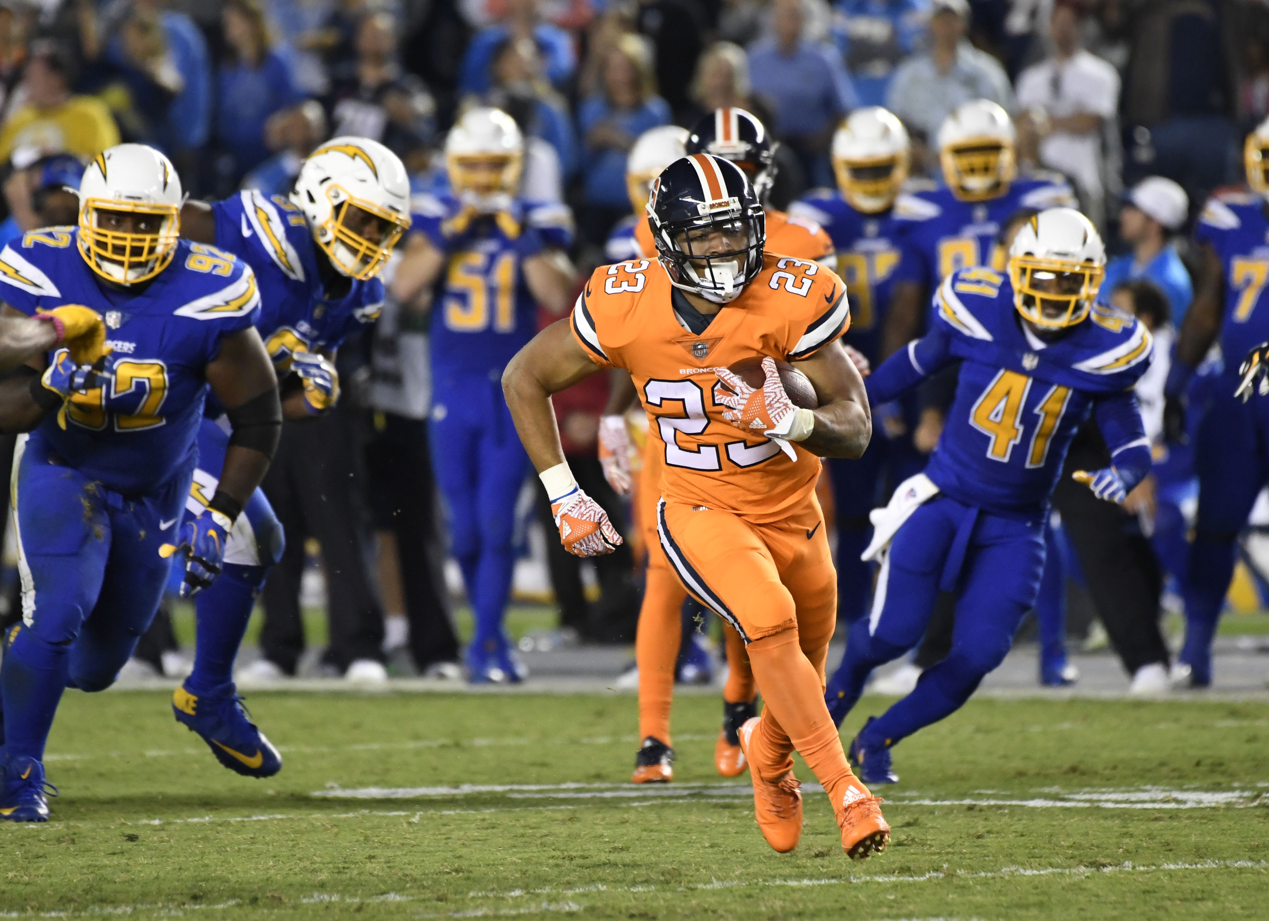 devontae booker may be the solution to the broncos running game rh denverpost com