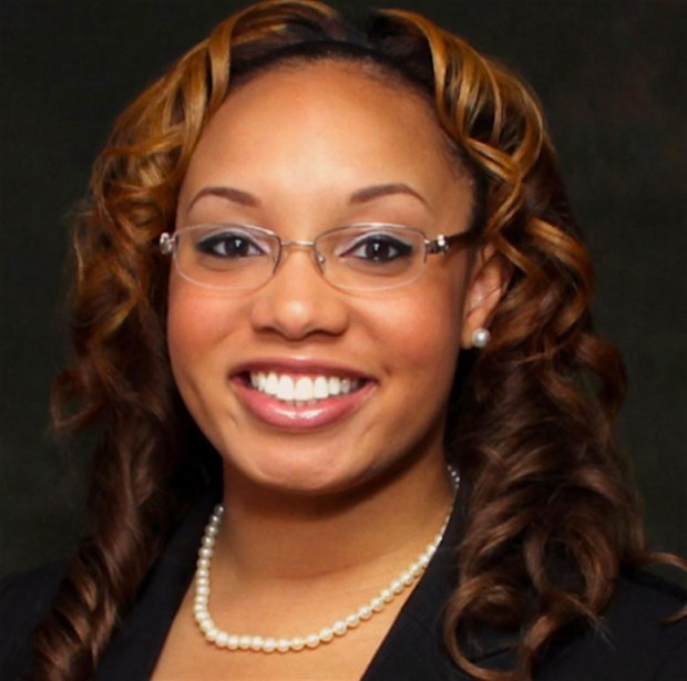 Physician Tamika Cross was ignored when she volunteered to help in a medical emergency on an airplane. MUST CREDIT: Courtesy of Tamika Cross.