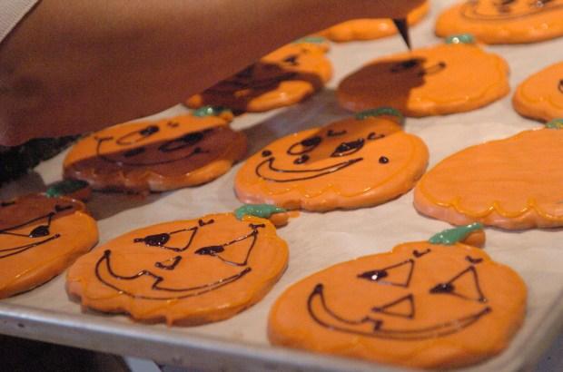 Halloween treats from Rheinlander Bakery in Arvada.