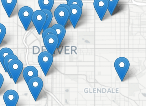 Denver Homicide Map