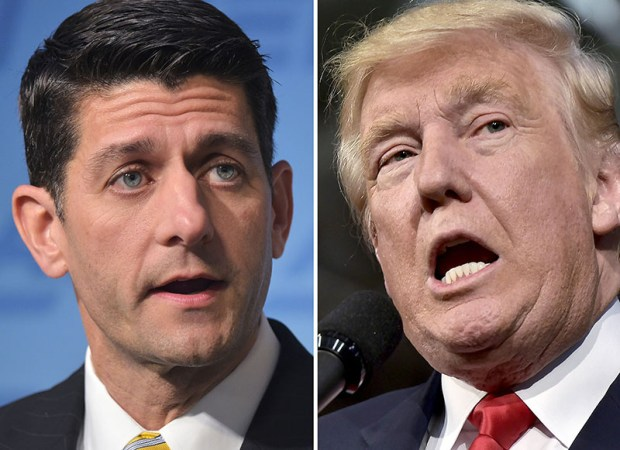 "Donald Trump lashed out Tuesday on Twitter against ""disloyal"" Republicans, including Rep. Paul Ryan."