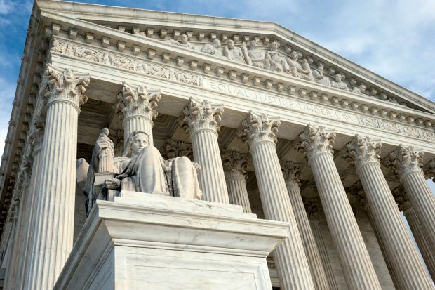 The next president could potentially appoint several justices to the U.S. Supreme Court.