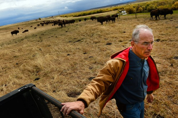 Former Colorado Congressman Bob Beauprez is pictured on his 1,300-acre ranch in Coalmont on Sept. 22, 2014.