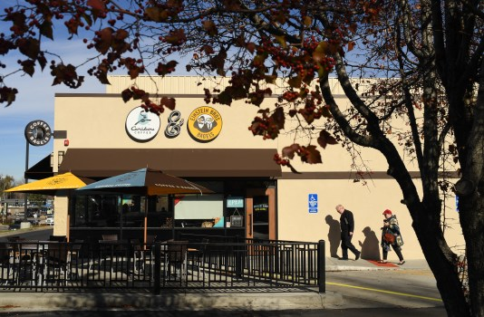 Einstein Bagels Caribou Coffee Mashup At 42 Locations And