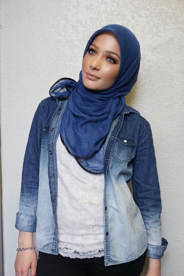 Denver-based beauty blogger Nura Afia is CoverGirl's first model who wears a hijab.
