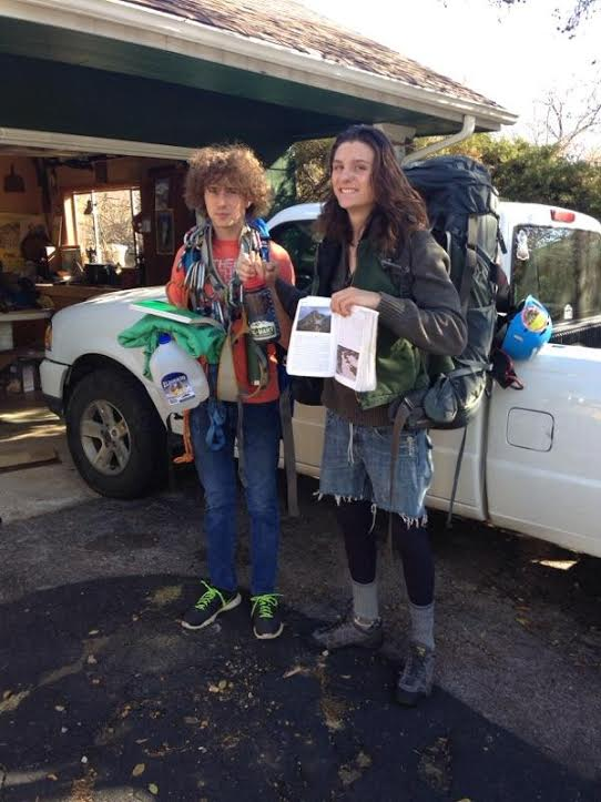 This undated photo shows the two unnamed hikers rescued from Mount of the Holy Cross Nov. 23, 2016.
