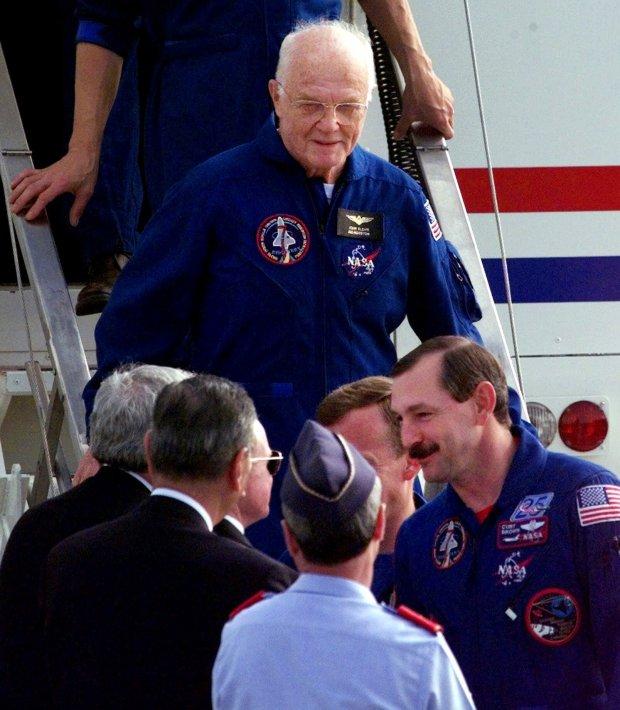 John Glenn first US astronaut to orbit Earth and US senator has died at 95