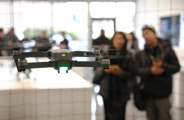 DJI, one of the biggest brands for drones, is opening its first store in Colorado.DJI does sell its drones at Best Buy and Apple stores, but the China-based company wanted to get its brand out there and have more control over its products and relationship with customers.