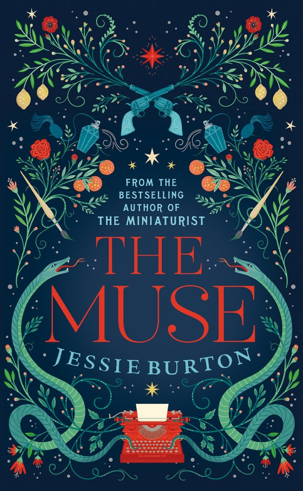 """The Muse"" book cover"