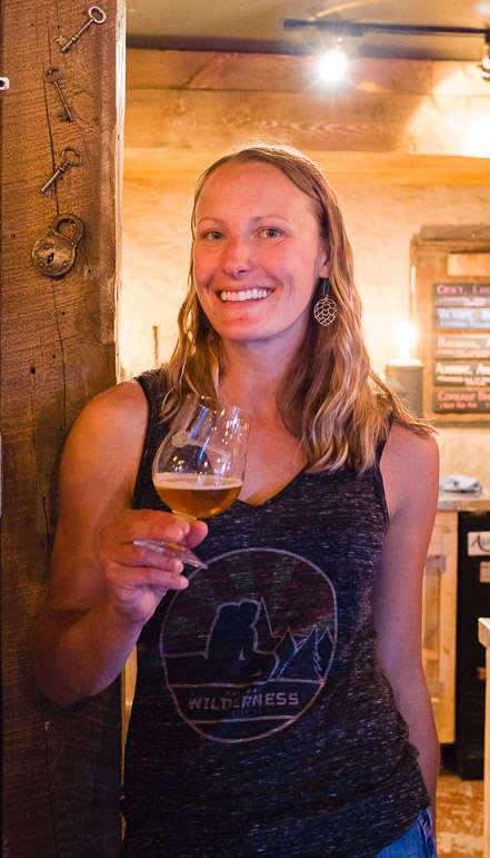 Sarah Haughey is the owner of Jailhouse Craft Beer Bar in Buena Vista.