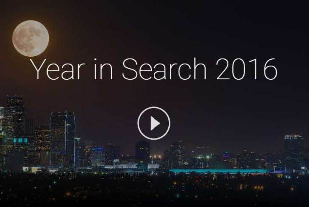 What did people search for on Google in 2016? The search giant shares all.