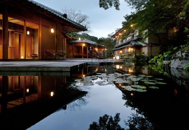 Hoshinoya's Kyoto property offers an urban oasis.