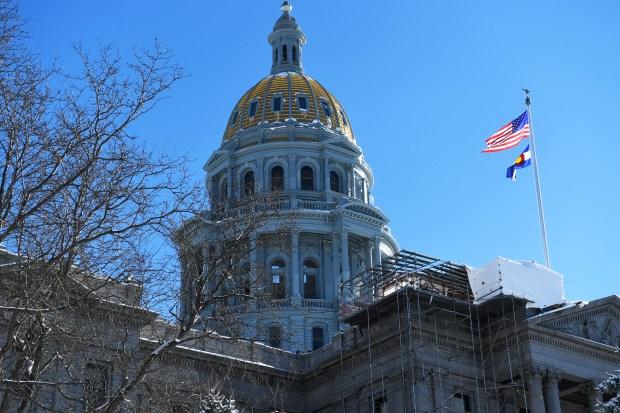 Colorado State Capitol January 06, 2017.