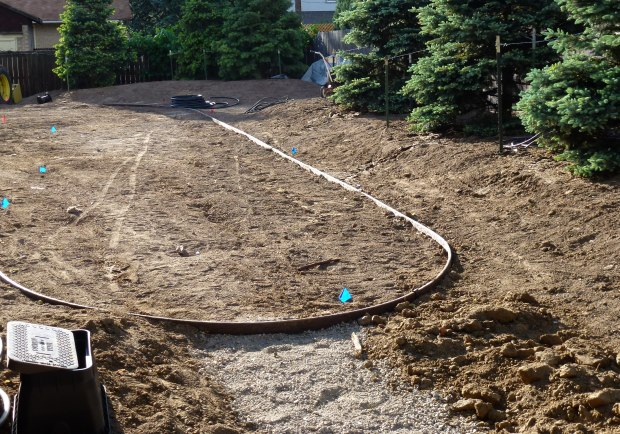 For large landscaping projects, consider hiring a professional service.