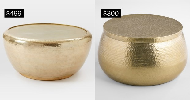 Splurge V Save Metallic Accents For Your Home The Denver