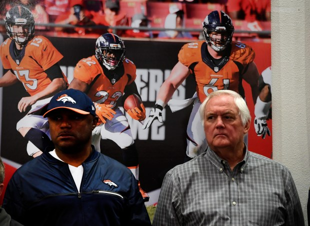 Joe Woods and Wade Phillips